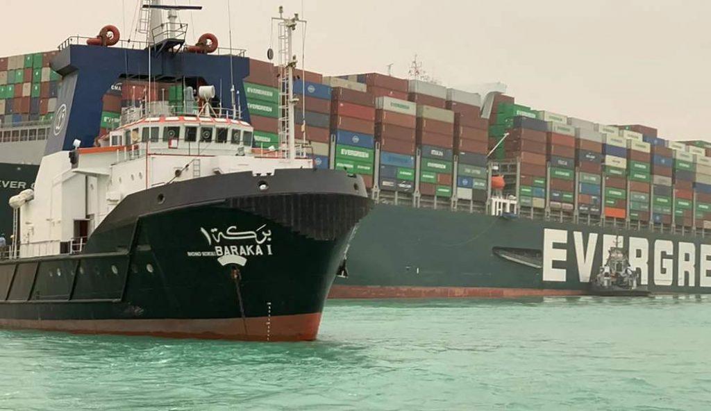 kiriman kapal laut