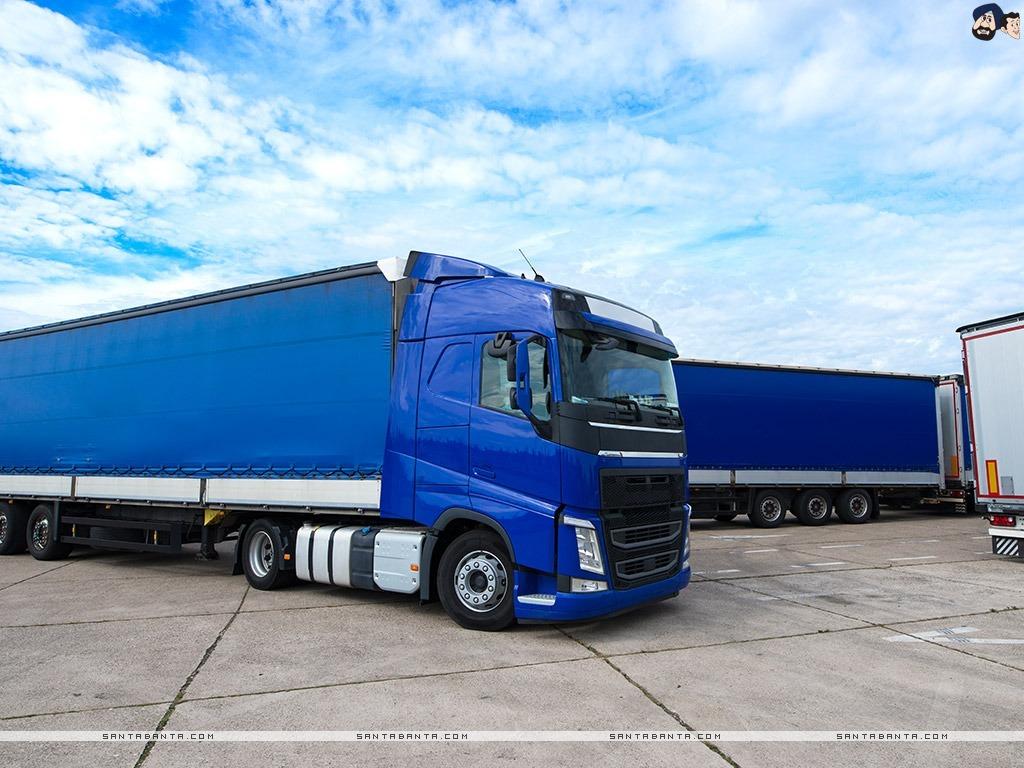 wallpaper of a giant cargo truck 1024 768 0